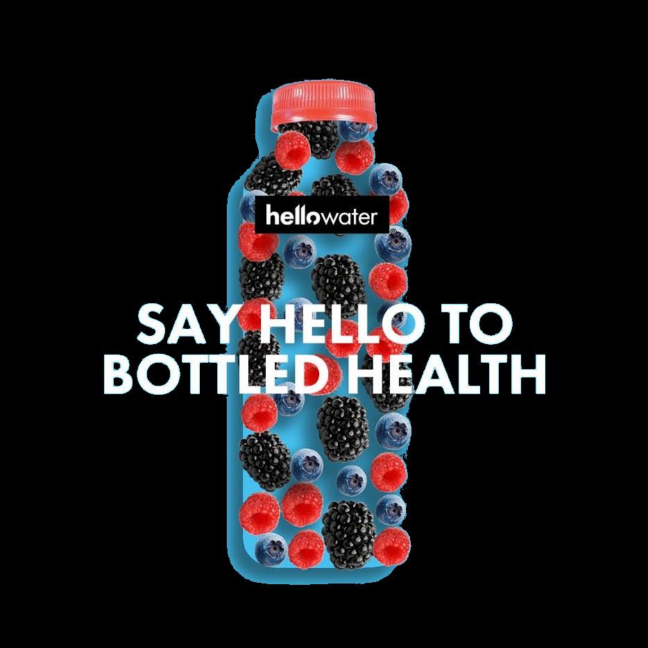 bottled health - hellowater®