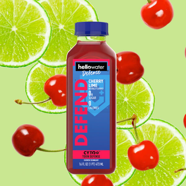 hellowater®Defense - DEFEND - Cherry Lime