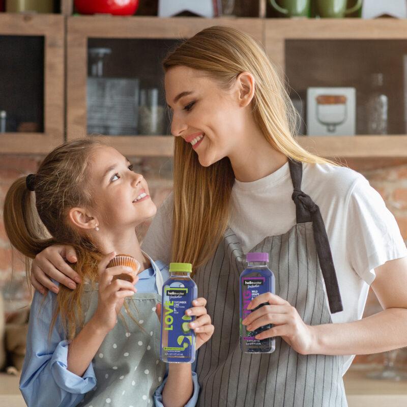 hellowater®Prebiotic Fiber Water - Mom and kid
