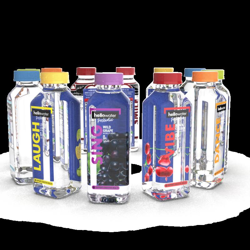 hellowater®Prebiotic Fiber Water - Variety Pack
