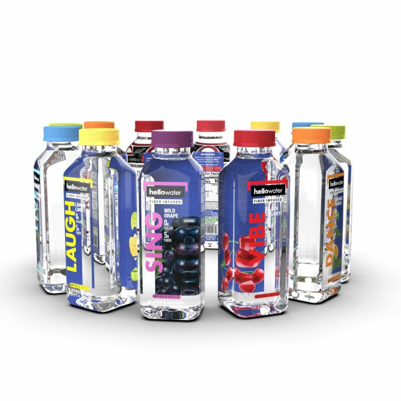 hellowater® Prebiotic flavors_1600x