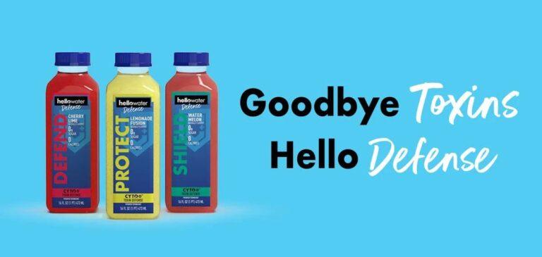 goodbye toxins - hello defense