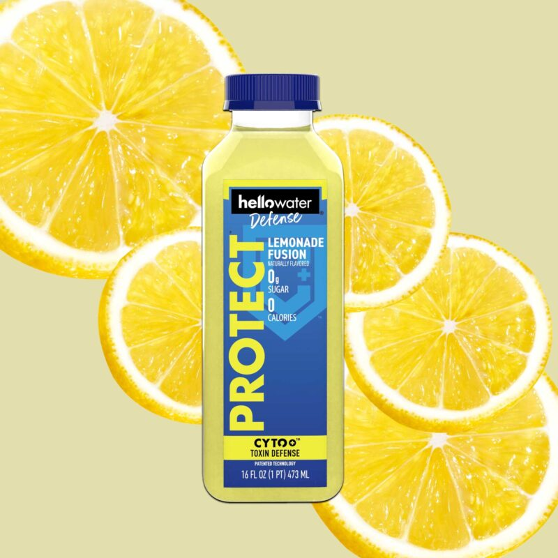 hellowater® Defense - protect- lemonade fusion