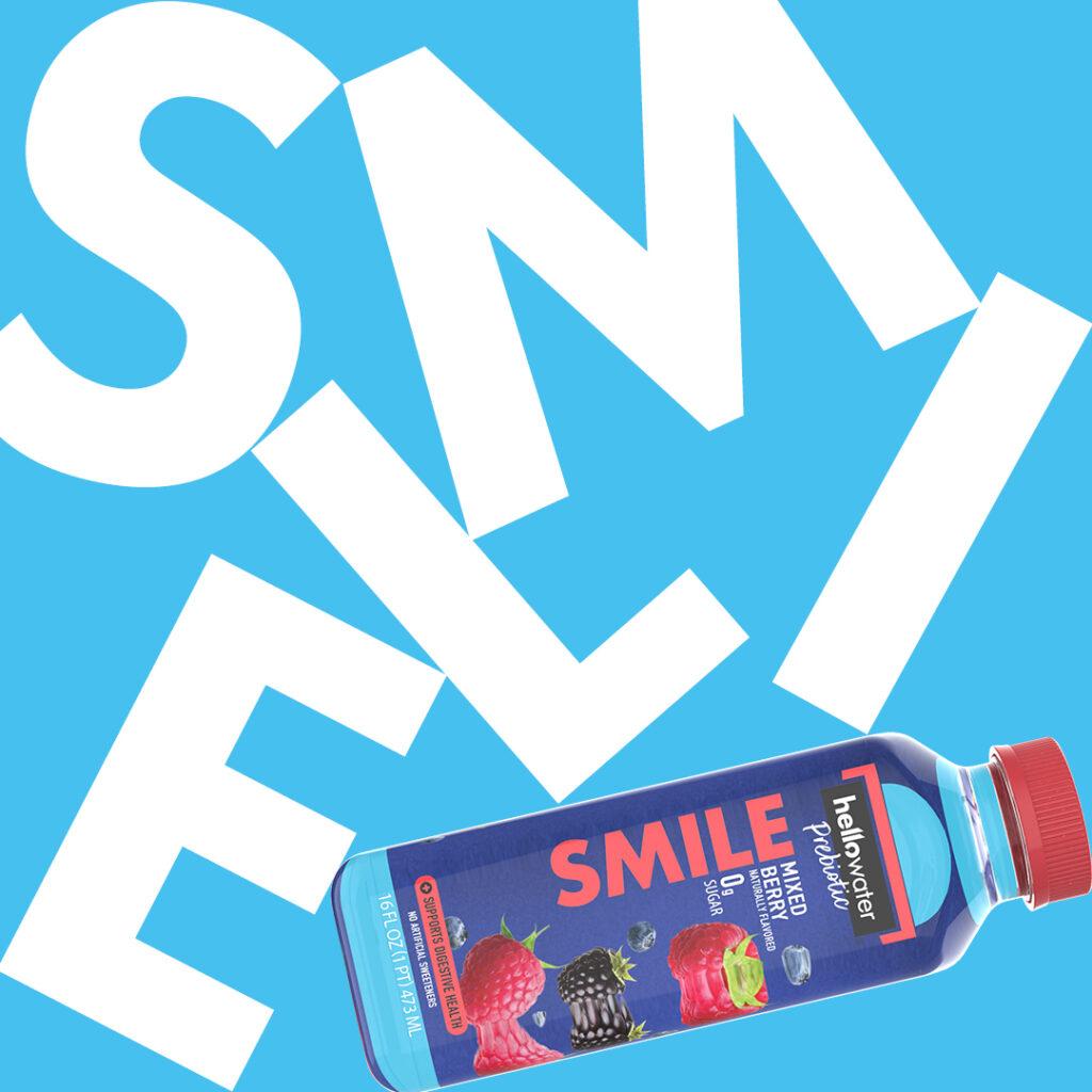 hellowater® Prebiotic - SMILE - wordart